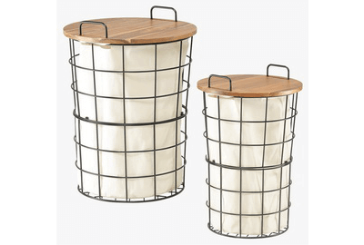 Laundry Storage Baskets With Lid