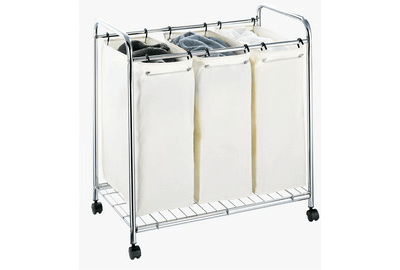 Three-Bag Laundry Sorter